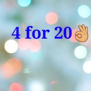 4 for 20 if you bundle